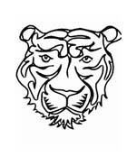 Tigre da colorare 76