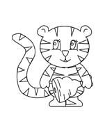 Tigre da colorare 80