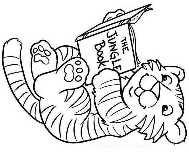 Tigre da colorare 82