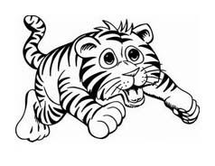 Tigri Da Colorare Disegnidacolorareit