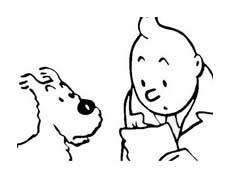 Le avventure di Tintin da colorare 3