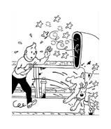 Le avventure di Tintin da colorare 5