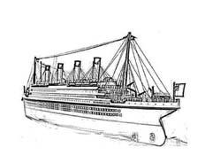 Nave e barca da colorare 138