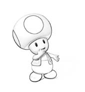 Toad da colorare 3