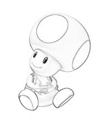 Toad da colorare 4