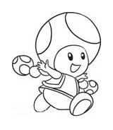 Mario bros da colorare 70