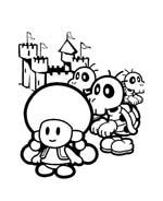 Mario bros da colorare 71