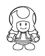 Mario bros da colorare 72