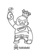Tokidoki da colorare 3
