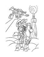 Toy story da colorare 87