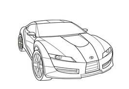 Automobile da colorare 415