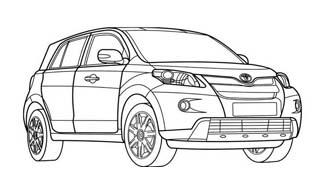 Automobile da colorare 416