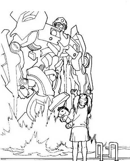 Transformers da colorare 10