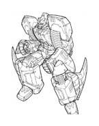 Transformers da colorare 11