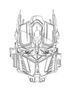Transformers da colorare 12