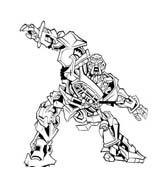 Transformers da colorare 15