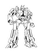 Transformers da colorare 16