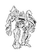 Transformers da colorare 17