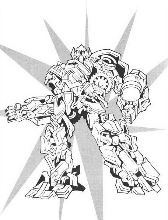 Transformers da colorare 18