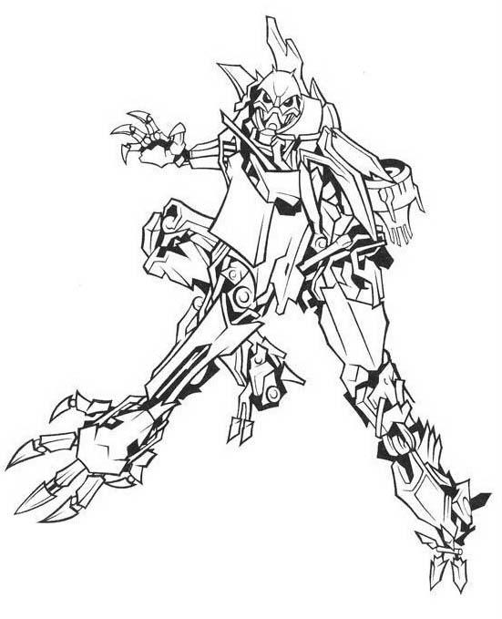 Transformers da colorare 20