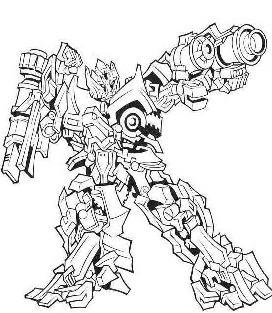 Transformers da colorare 22