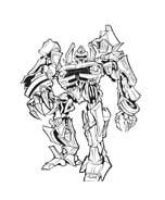 Transformers da colorare 23