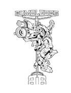 Transformers da colorare 28