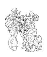 Transformers da colorare 29