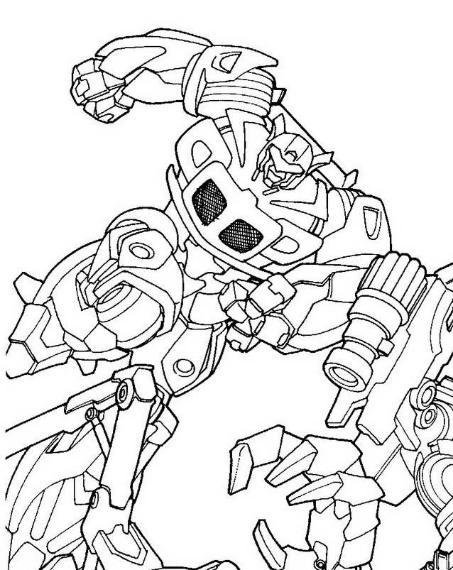 Transformers da colorare 32