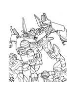 Transformers da colorare 33