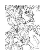 Transformers da colorare 34