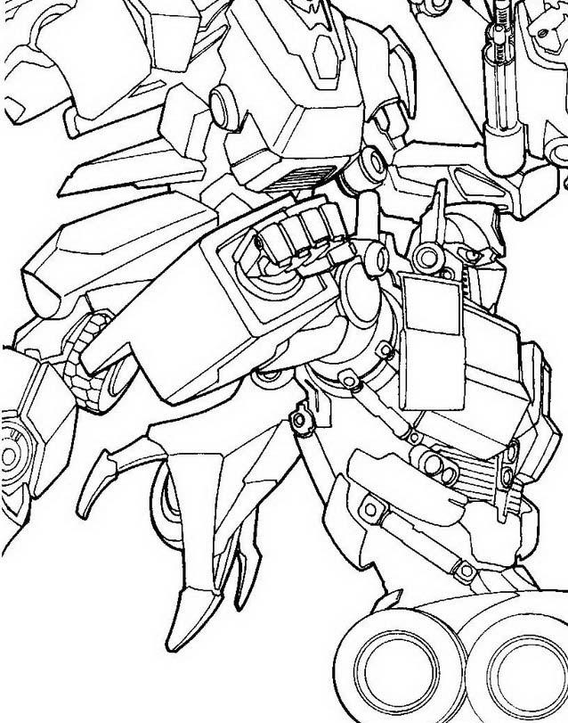 Transformers da colorare 35