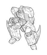 Transformers da colorare 36