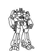 Transformers da colorare 37