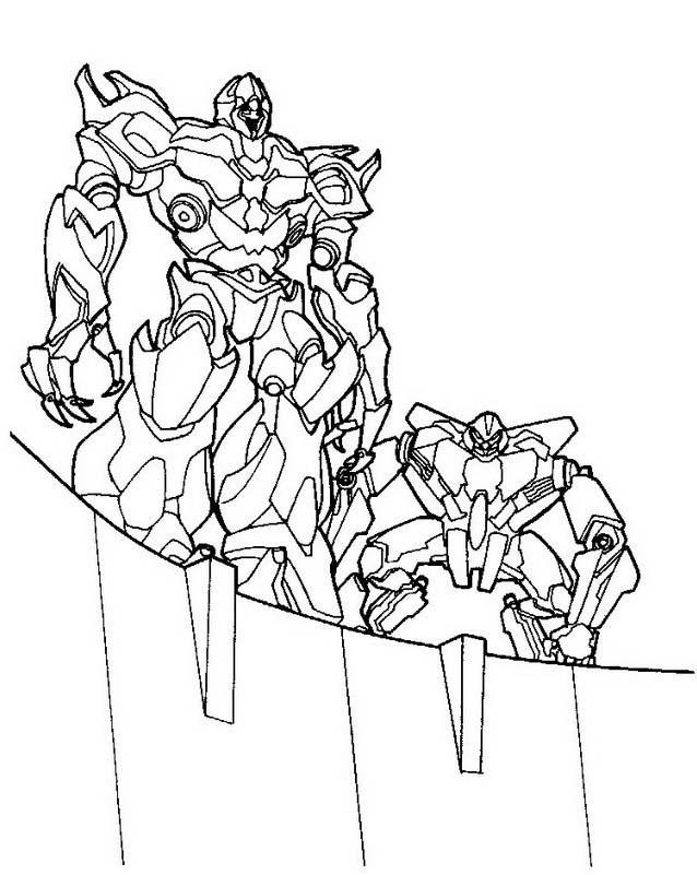Transformers da colorare 40