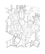 Transformers da colorare 43