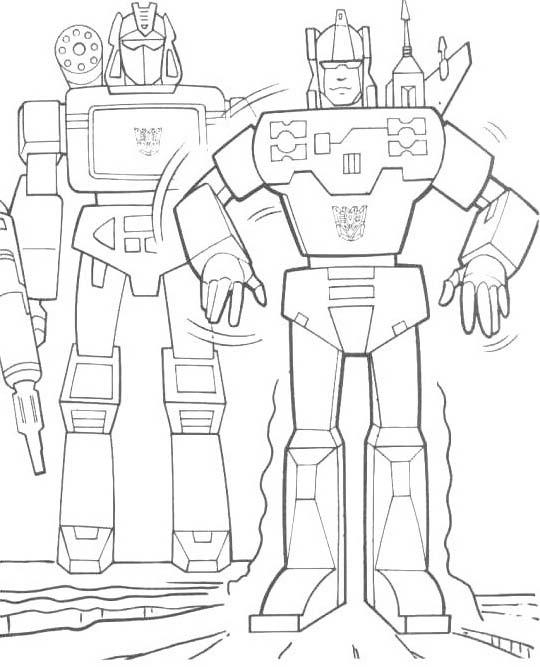 Transformers da colorare 44