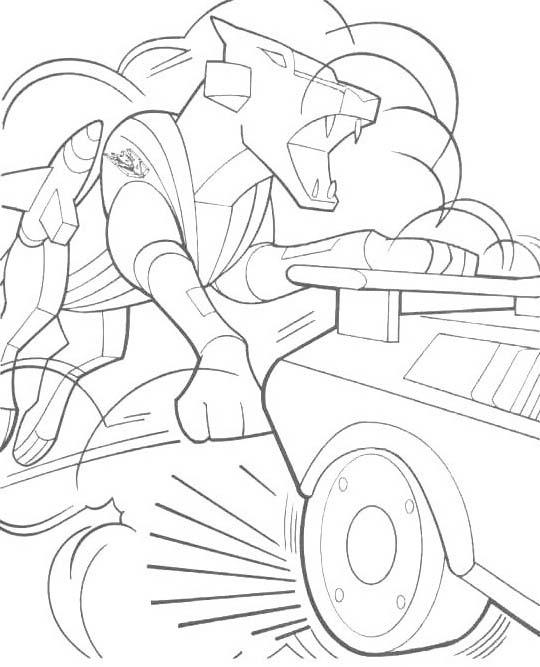 Transformers da colorare 45
