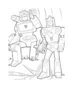 Transformers da colorare 46