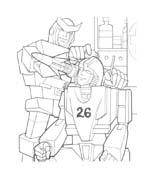 Transformers da colorare 48