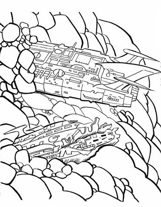 Transformers da colorare 52