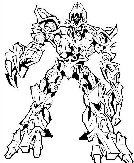 Transformers da colorare 60