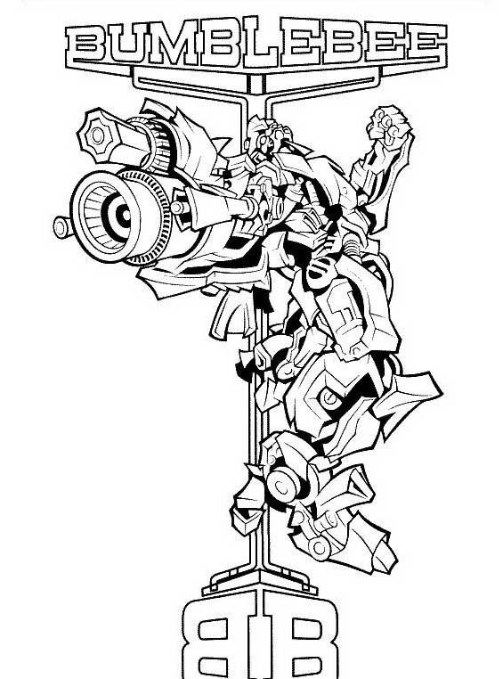 Transformers da colorare 64