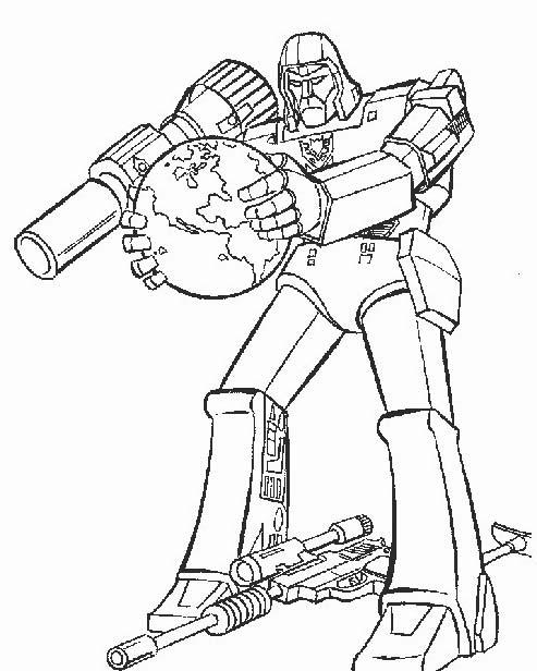 Transformers da colorare 67
