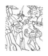 Transformers da colorare 68