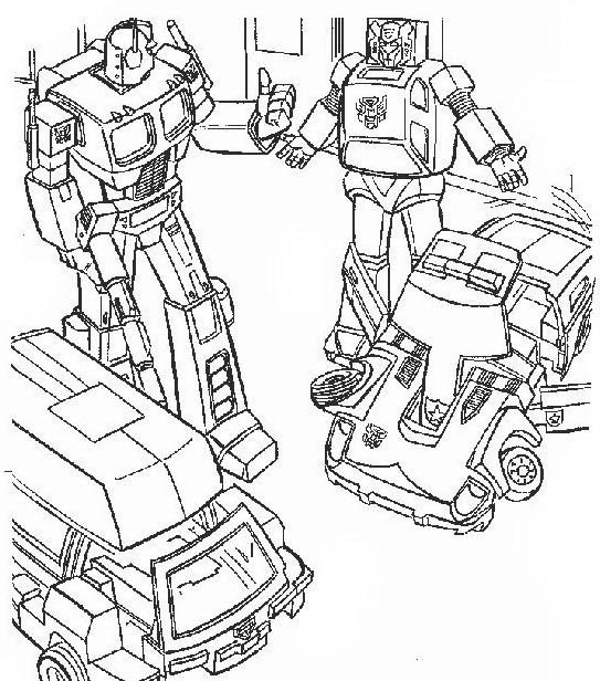 Transformers da colorare 69