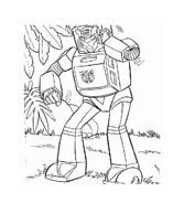 Transformers da colorare 70