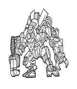 Transformers da colorare 72