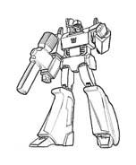 Transformers da colorare 73