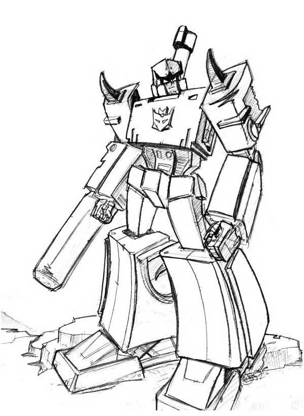 Transformers da colorare 74